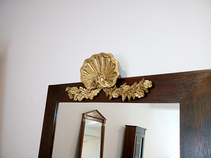 Vintage Italian console with mirror classic style