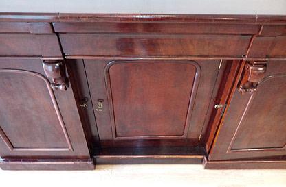 English Victorian sideboard, 19th century